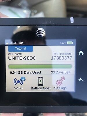 AT&T UNLIMITED DATA NO THROTTLING 4G LTE ATT Unite PRO HOTSPOT!!REAL DEAL PLAN!