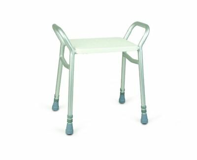 Homecraft Adjustable Height Shower & Bath Stool With Handles Seat Disability Aid