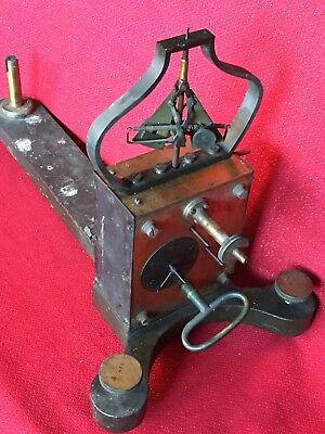 RARE BREGUET 19th C.French Clock Work Watchmakers Engine Lathe Jewelers Tool