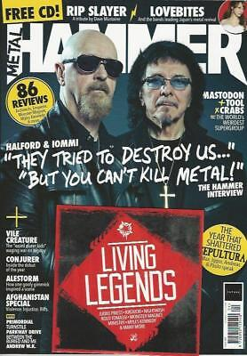 Metal Hammer Magazine + Cd April 2018 (Judas Priest, Slayer, Lovebites) New