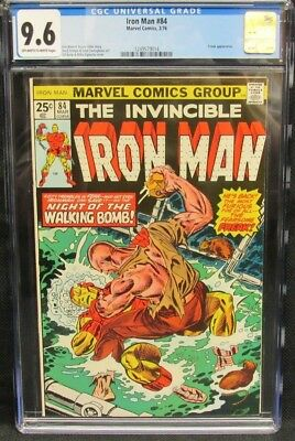 Iron Man #84 (1976) Freak Appearance CGC 9.6 OW to White Pages CM548