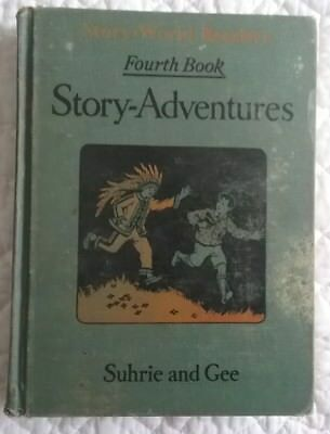 Antique Children's Book Story Adventures Shhrie and Gee: 1929 Illustrated