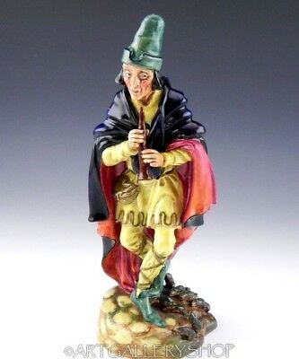 Royal Doulton England 1952 Figurine H.N.2102 THE PIED PIPER MAN FLUTE RATS Mint