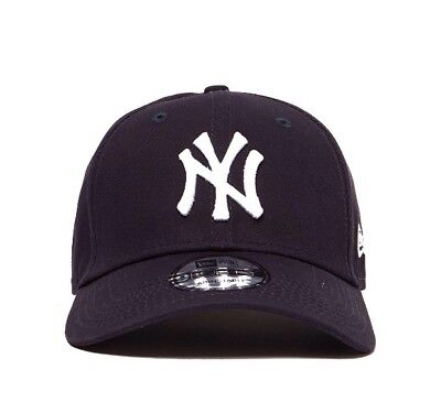 New Era 9Forty NY Yankees - One Size Strapback Baseball Cap Navy - Free P&P