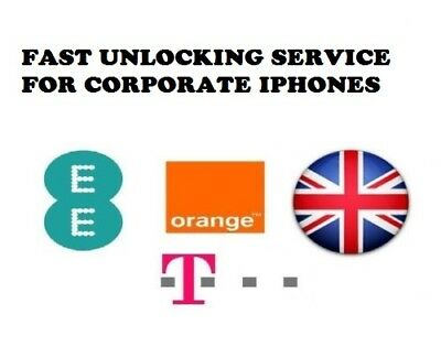 Unlock Corporate Iphones 4,5,5S,5C,6,6+,6S,6S+,7,7+ At Ee Tmobile & Orange Uk