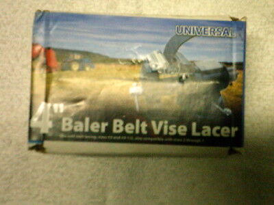"Brand New Universal R-4"" Clipper Baler Belt Vise Lacer Hook size 2-7"