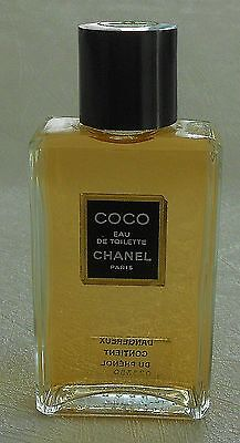 Flacon Parfum Factice dummy Coco de CHANEL EDT 75 ml plein