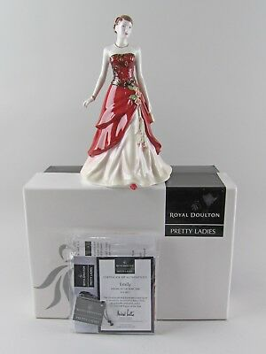Royal Doulton PRETTY LADIES-EMILY HN4817 Figurine of the Year 2006 with Box&COA