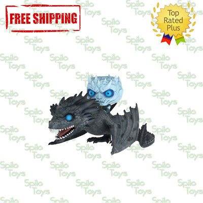 Funko POP! Game of Thrones Night King & Icy Viserion Glow in the Dark