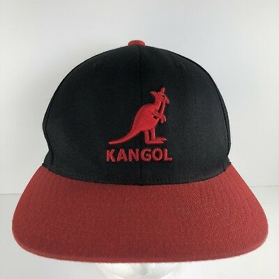 58264455c00fa KANGOL MENS SNAPBACK Black Red Hat Cap One Size -  9.99
