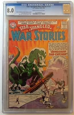 Star Spangled War Stories #112 Cgc 8.0 Vf Dc 1964 Cr/ow Pages Andru Cover