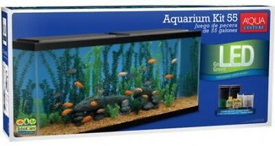 Aqua Culture 55 Gallon Aquarium Starter Kit With LED