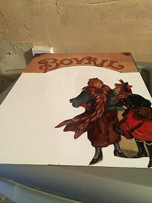 Bovril Sign (christmas or winter) reproduction