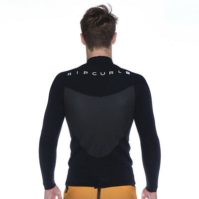 Rip Curl Omega 1.5mm Wetsuit Jacket in Black
