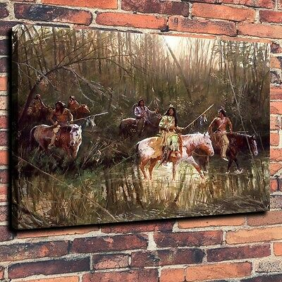Art Quality Canvas Print Oil Painting Women/'s Games Puppets 16x20 Home Decor