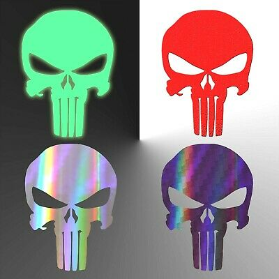 Punisher Sticker Specialty Vinyl Punisher Skull Decal