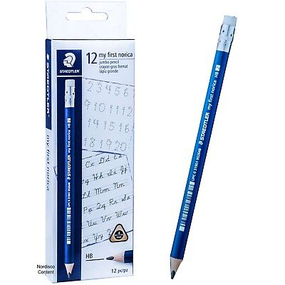 Staedtler 119 22 My First Norica HB 2, Triangular Learners Pencils, Box of 12