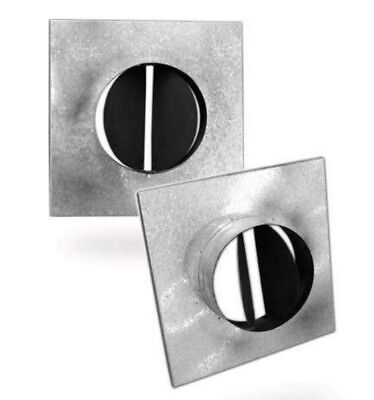 NECK ADAPTER FOR DUCT SQUARE CELILING  DIFFUSER LD4 Model: NA-LD-STR-Y 375x350