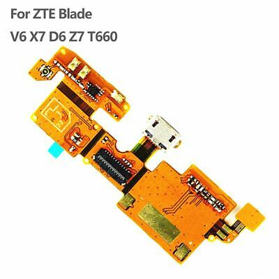 Mic Charger Charging USB Port dock Flex cable For ZTE Blade V6 X7 D6 Z7 T660 New
