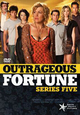 Outrageous Fortune - Series 5 NEW PAL Cult 4-DVD Set