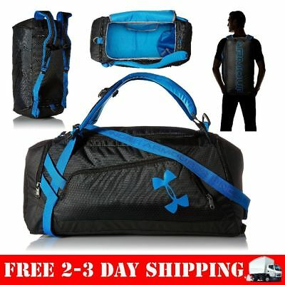 c2c41a27fb Under Armour Storm Undeniable Backpack Duffle Medium Black One Size Gym Bag  Men