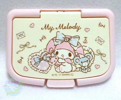 New! SANRIO My Melody KAWAII Only Lid of Wet Tissue Can be Used Repeatedly Paste