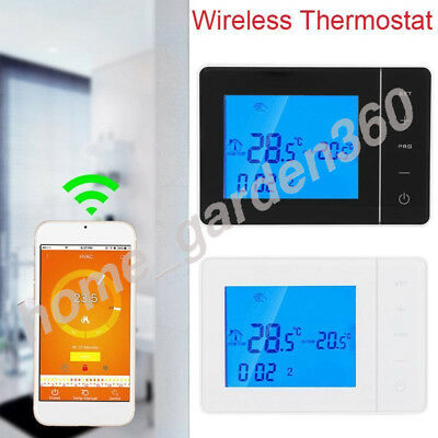 Programmable Smart Wireless Thermostat Digital LCD Display Temperature Control