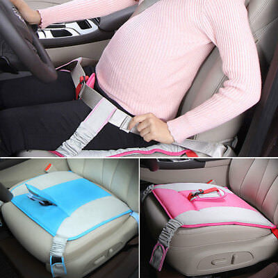 Breathable Pregnant Car Seat Cover Protector Cushion Pad Soft Safety Belt New