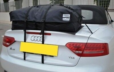 AUDI A5 CABRIOLET CONVERTIBLE COFFRE VALISE RACK Alternative: boot-bag vacance