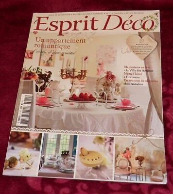 Magazin L'Esprit Déco N12 2018 Wohnen France Country Brocante D.I.Y. Shabby Chic