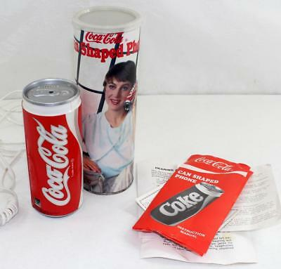 Vintage Unused Coca Cola Coke Can Telephone