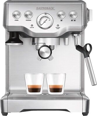 Gastroback 42611 Design Espresso Advanced Plus Espressomaschine