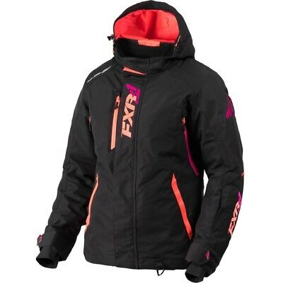 """Fxr """"vertical Pro"""" Jacket Snowmobile Removable Hood Insulated Womens 14 - Sale!"""