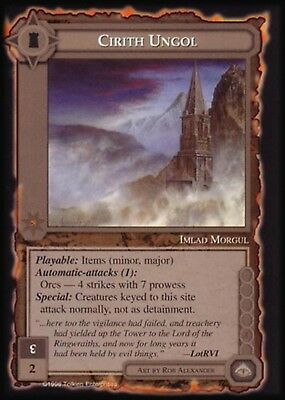 MECCG CCG Middle-earth Obey Him or Die Balrog MEBA MINT
