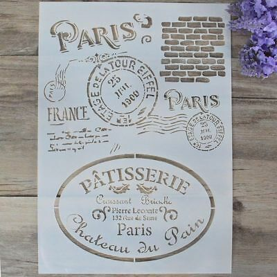 Letter Alphabet Stamp Embossing Template Layering Stencils Scrapbooking