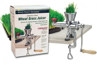 Stainless Steel Wheatgrass Juicer Manual Wheat Grass Juice Extractor Health
