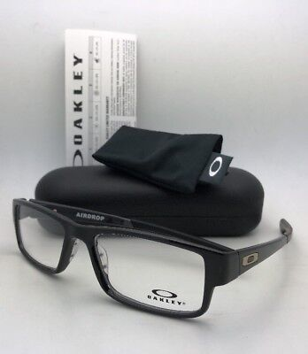 New OAKLEY Eyeglasses AIRDROP OX8046-0257 XL Large 57-18 143 Black Ink Frames