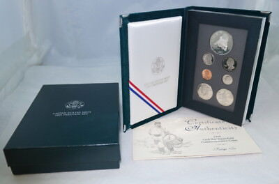 1995 Us Mint Prestige Proof Set Silver Civil War Coin Ogp - Free Shipping