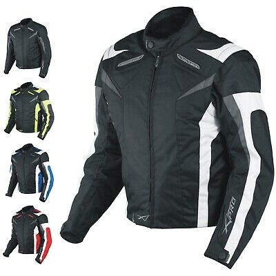 Motorcycle Jacket CE Armored Textile Motorbike Racing Thermal Liner All sizes