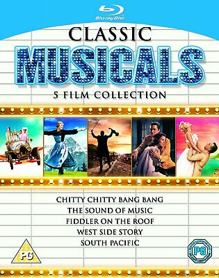 Classic Musicals - 5 Film Collection [1958] [Region Free] (Blu-ray)WOWB