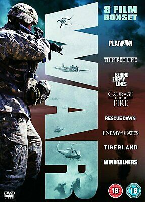 War Collection (Platoon, The Thin Red Line, Behind Enemy Lines + more ) (DVD)
