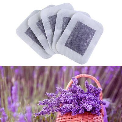 Lavendel Detox Foot Pads Patch Entgiftung Giftstoffe Fit Gesundheitswesen RA