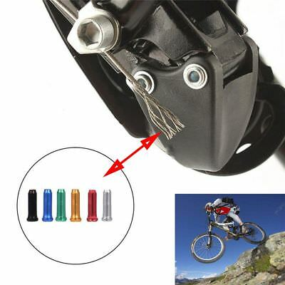 20/50 Pcs Cycling Shifter Cable Cover Aluminum Alloy Brake Wire End Cap Bike