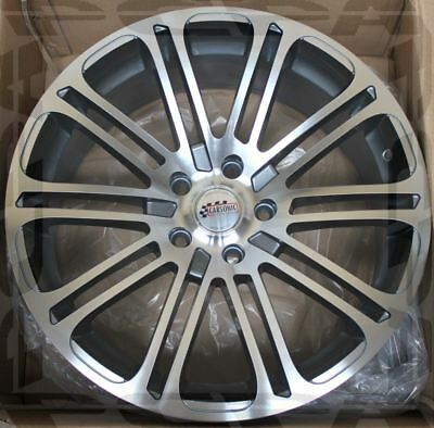 """19"""" 4 Wheels Silver 19X8.5 +35 5X120 LAND ROVER RANGE ROVER SPORT DISCOVERY"""