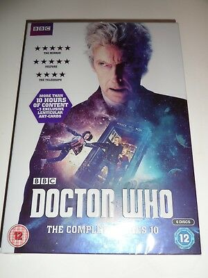 Doctor Who Complete Series 10 - Brand New & Sealed DVD UK REGION 2