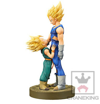 ORIGINAL Banpresto Dragonball Figur Dramatic Showcase Trunks & Majin Vegeta