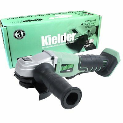 Kielder 18V 115mm Cordless Angle Grinder Brushless Digital Motor - Bare Unit