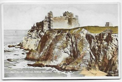 Vintage Postcard.  Tantallon Castle, North Berwick.  Unused.  Ref:83157