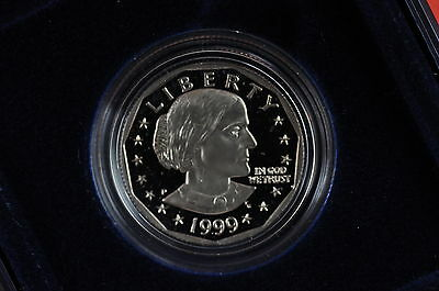 1999-P GEM Proof  (Susan B Anthony) US One Dollar Coin (Original Mint Packaging)