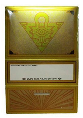 Yu-Gi-Oh! Deck case From MILLENNIUM BOX GOLD EDITION Card case Japanese